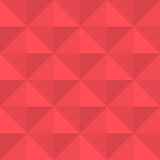 Abstract background with red triangles. Vector abstract background with red triangles Stock Photos