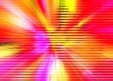 Abstract background red and violet explosion Stock Image