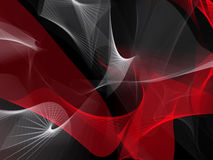 Abstract background in red and white on black. In backgrounds Stock Illustration