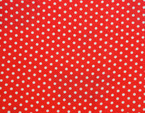 Abstract background with red and white dots Royalty Free Stock Photos