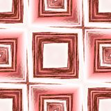Abstract background with red wooden square ornament, modern grunge background. Computer generated image stock illustration