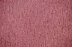 Abstract background red wrinkled paper Royalty Free Stock Photo