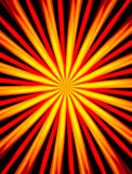 Abstract background with red and yellow beams Stock Images