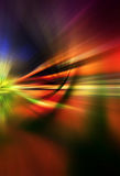 Abstract background in red, yellow and blue tones. That represents speed, action and motion royalty free illustration