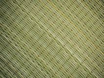 Abstract background of reed mat pattern Royalty Free Stock Images