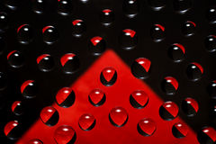 Abstract background  with reflections black and red colors Royalty Free Stock Images