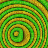 Abstract Background. Reminding of Snakes Stock Photography