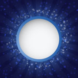 Abstract background with retro circle banner Stock Images