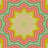 Abstract background. Retro colorful ornate in bright  colors Stock Image