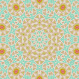 Abstract background. Retro colorful ornate in pastel colors Royalty Free Stock Image