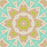 Abstract background. Retro colorful ornate in pastel colors Stock Images