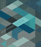 Abstract Background /retro mosaic brochure or banner. /retro mosaic brochure or banner Stock Photo