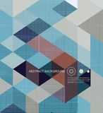 Abstract Background /retro mosaic brochure or Royalty Free Stock Photography