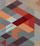 Abstract Background /retro mosaic brochure or. Banner. This is file of EPS10 format Stock Photo