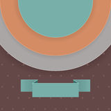 Abstract background in retro style with text field Stock Image