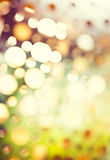 Abstract background of retro tinted lights Royalty Free Stock Photography