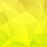 Abstract Background of Rhombus Green Yellow Stock Images
