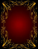 Abstract background from ribbons Royalty Free Stock Images
