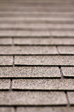 Abstract background of a roof. Depth of field Royalty Free Stock Photos
