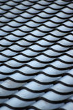 Abstract background of roof tiles Royalty Free Stock Photos