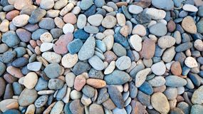 Abstract background with round peeble stones. Abstract background with round peeble stones Stock Photos