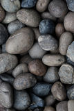 Abstract background with round peeble stones Stock Images