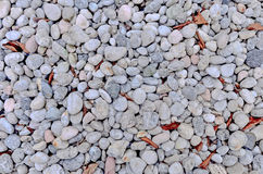 Abstract background with round peeble stones Stock Photos
