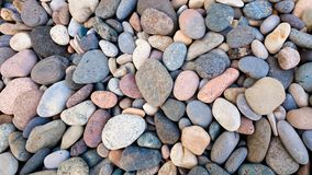 Abstract background with round peeble stones. Abstract background with round peeble stones Royalty Free Stock Photo
