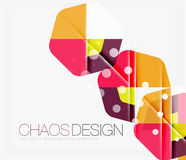 Abstract background with round shapes Stock Images