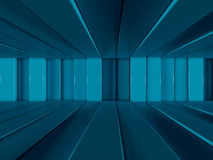 Abstract background of rows of lines. 3D. Rendering Stock Illustration