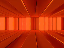Abstract background of rows of lines. 3D. Rendering Royalty Free Illustration