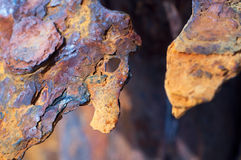 Abstract background - rust. Royalty Free Stock Photography