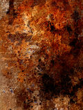 Abstract background with rust structure Stock Photography