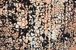 Abstract background. A rusty metal wall with the peeled-off pain Stock Images