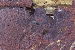 Abstract Background of rusty texture on steel Stock Photo