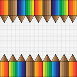 Abstract Background for School and Education Concept, Vector Wor. The Abstract Background for School and Education Concept, Vector Work Stock Photography