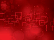 Abstract background of science and technology. Red abstract background of science and technology