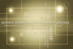 Abstract background science theme Stock Photo