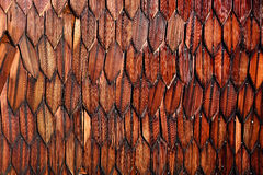Abstract background with scorched wooden slats Stock Image