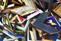 Abstract background from scraps frames for picture Stock Photo