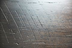 Abstract background with scratches on wooden Royalty Free Stock Photography