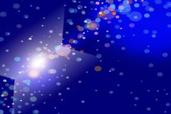 Abstract background. Screen saver for your computer, space vector illustration