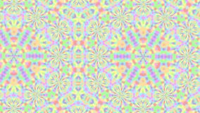 abstract background for screensaver and meditation to music with yellow shades of neon glow and camera shake for hypnosis