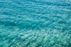 Abstract background with sea surface Royalty Free Stock Photography