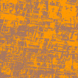 Abstract background seamless. Orange and brown - Abstract background royalty free illustration