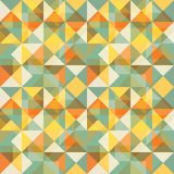 Abstract background. Seamless geometric decorative multicoloured background Stock Photography