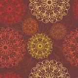 Abstract background. Seamless background with abstract lacy motifs stock illustration