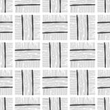Abstract background, seamless pattern. Black and white illustration. Design for fabric, wallpaper or covering. Abstract background and seamless pattern. Black stock illustration