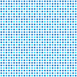 Abstract background. Seamless pattern. Blue circle on white background Stock Images
