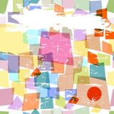 Abstract background. Seamless abstract pattern, free copy space Stock Images